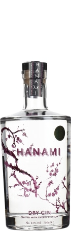 Hanami Dry Gin 70cl