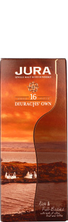 Isle of Jura 16 years Diurachs Own 1ltr