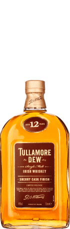 Tullamore Dew 12 years Sherry Cask Finish 1ltr
