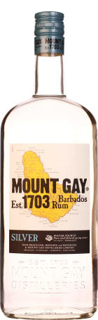 Mount Gay Silver Rum 1ltr