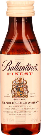 Ballantines Finest miniaturen 12x5cl