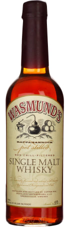 Wasmund's Single Malt 70cl