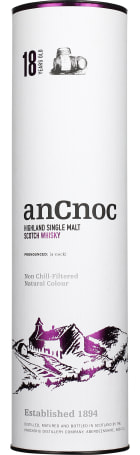 An Cnoc 18 years Single Malt 70cl