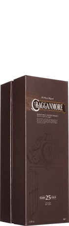 Cragganmore 25 years Single Malt 70cl