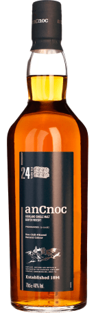An Cnoc 24 years Single Malt 70cl