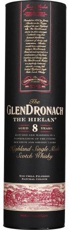 Glendronach 8 years The Hielan 70cl