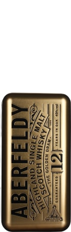 Aberfeldy 12 years Single Malt & Water From The Source 70cl