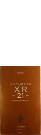 John Walker & Sons XR 21 years 1ltr
