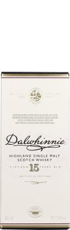Dalwhinnie 15 years Single Malt 70cl