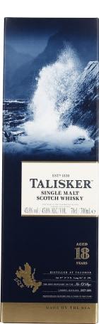 Talisker 18 years Single Malt 70cl