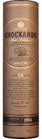 Knockando 18 years 1994 Old Single Malt 70cl