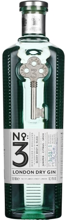 No.3 London Dry Gin 70cl