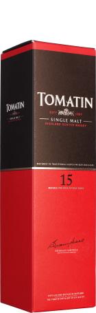 Tomatin 15 years Single Malt 70cl