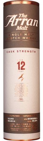 Arran 12 years Cask Strength Batch 4 70cl