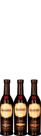 Glenfiddich 19 years Age of Discovery 3-pack 3x20cl