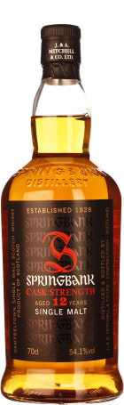 Springbank 12 years Cask Strength 2016 First Release 70cl