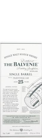 Balvenie 25 years Single Barrel 70cl