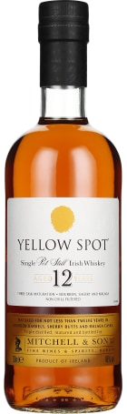 Yellow Spot 12 years Single Pot Still 70cl