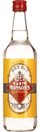 Monson's Dry Gin 70cl