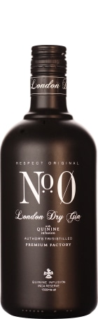 No.0 London Dry Gin 70cl