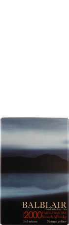 Balblair Vintage 2000 2nd Release Single Malt 1ltr