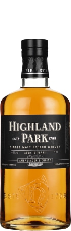 Highland Park Ambassador's Choice 10 years bourbon cask 70cl
