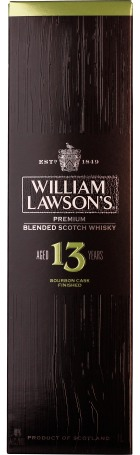 William Lawson 13 years 1ltr