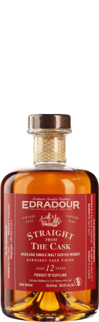 Edradour 12 years Burgundy Cask Straight from the Cask 50cl