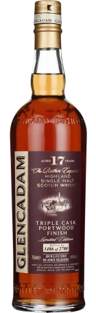Glencadam 17 years Single Malt 70cl