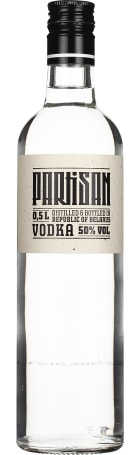 Partisan 50% Vodka 50cl