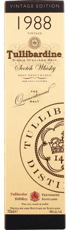 Tullibardine 1988 Single Malt 70cl