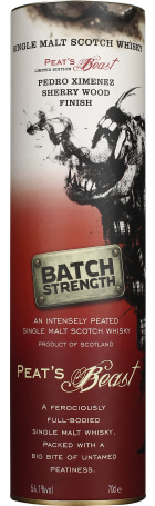 Peat's Beast Cask Strenght PX Finish 70cl