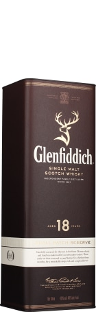 Glenfiddich 18 years Single Malt 70cl