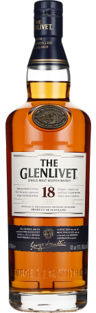 The Glenlivet 18 years Single Malt 70cl