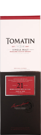 Tomatin 21 years Single Malt 70cl