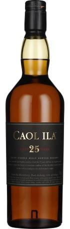 Caol Ila 25 years Single Malt 70cl