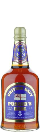 Pusser's Blue Label 54.50 British Navy Rum 70cl