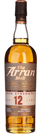 Arran 12 years Cask Strength Batch 4 70cl