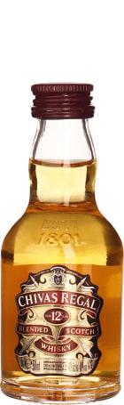 Chivas Regal 12 years miniaturen 12x5cl