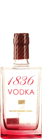 1836 Belgian Organic Vodka 70cl