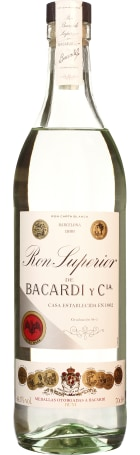 Bacardi Superior Heritage 1909 70cl