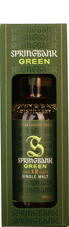 Springbank 12 years Green Single Malt 70cl
