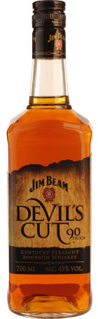 Jim Beam Devil's Cut Poker Giftset 70cl