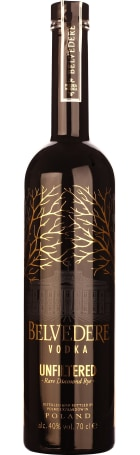 Belvedere Unfiltered 70cl