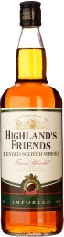 Highlands Friends Whisky 1ltr