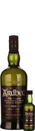 Ardbeg Quadrant Tasting Pack 10 years & Uigeadail 75cl