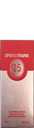 Springbank 25 years 2015 Single Malt 70cl