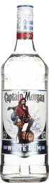 Captain Morgan White Rum 1ltr