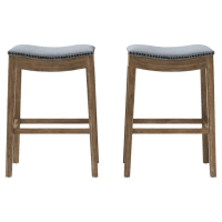 Hocker Set of 2 Bar Stools