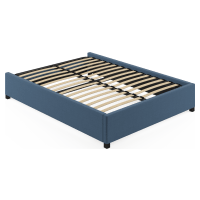 Queen Size Upholstered Standard Bed Frame Base